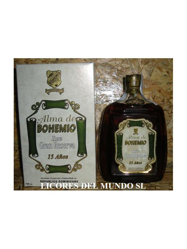 RON ALMA DE BOHEMIO 15 AÑOS -