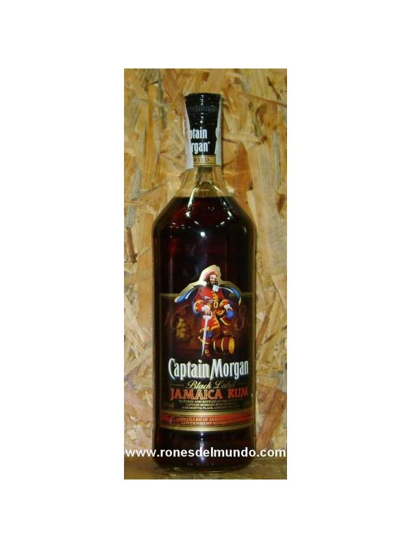 RON CAPTAIN MORGAN BLACK LABEL 1 L -