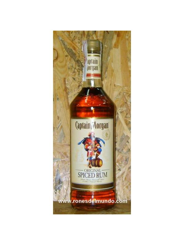 RON CAPTAIN MORGAN SPICED COLD 1 LITRO
