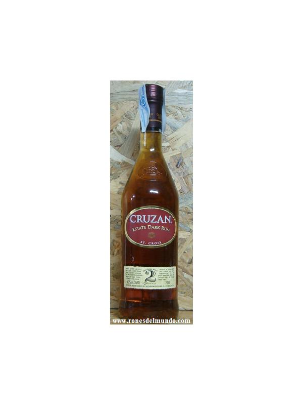 CRUZAN ESTATE DARK RUM 2 -