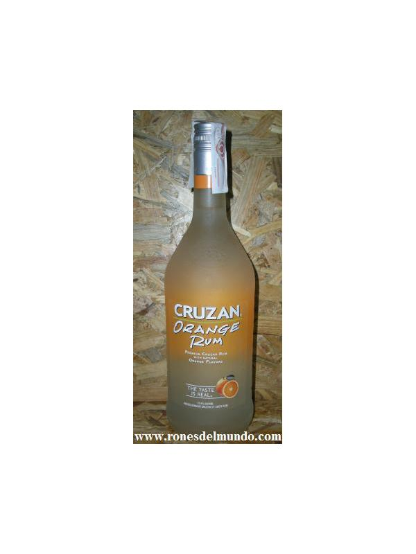 RON CRUZAN ORANGE - RON CON SABOR A NARANJA