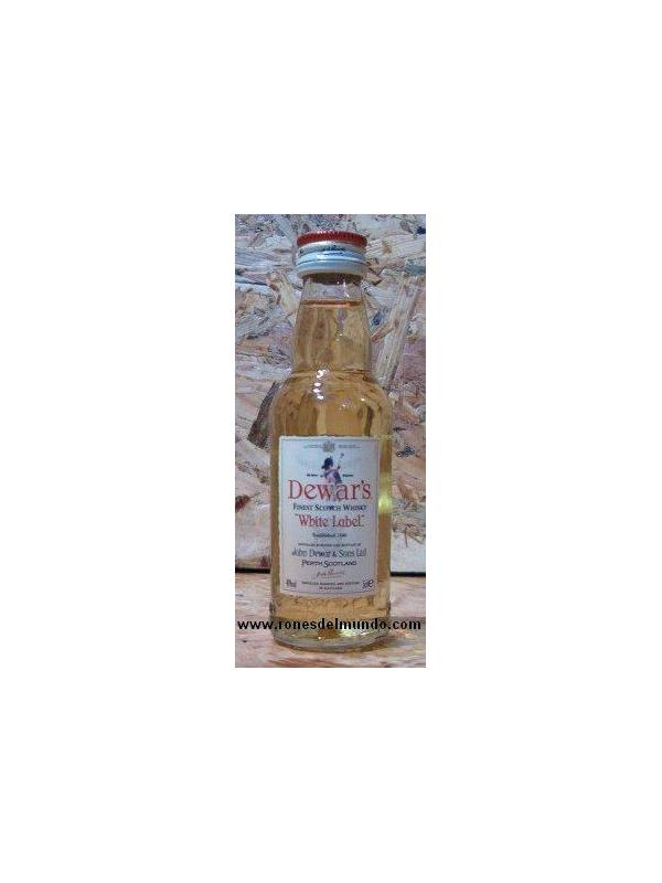 MINIATURA DEWAR´S - WHITE LABEL 5 CL