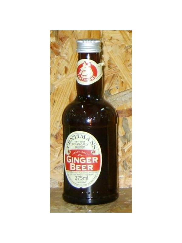 REFRESCO PREMIUM FENTIMANS GINGER BEER 235 ml - REFRESCO PREMIUM FENTIMANS GINGER BEER