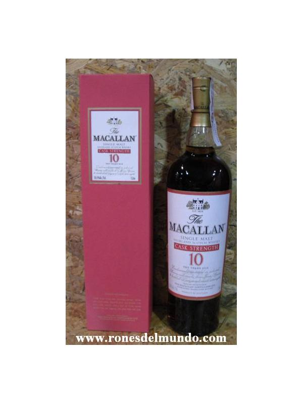 WHISKY MACALLAN 10 CASK STRENGHT 1 LITRO