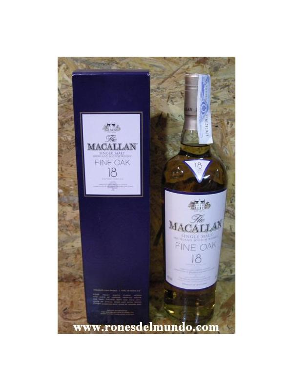 WHISKY MACALLAN 18 AÑOS 70CL