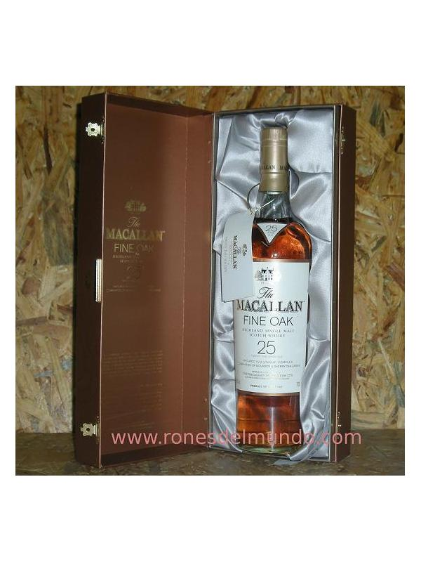 WHISKY MACALLAN FINE OAK 25 AÑOS