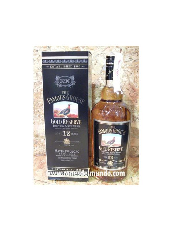 WHISKY THE FOMOUS GROUSE GLOD RESERVA 12 AÑOS -