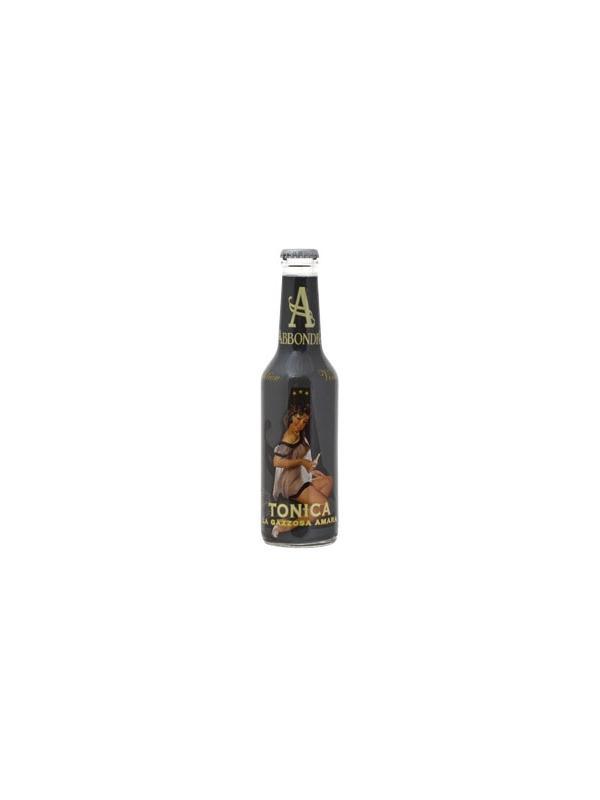 TONICA PREMIUM ABBONDIO CAJA 24 UND - Tonica premium de fabricación Italiana, es su pais es fabricada por una de las empresas de mas prestigio del pais, el estilo de esta tonica es la mezcla del amargor de la quinina con los citricos, es conocida como la gaseosa amarga