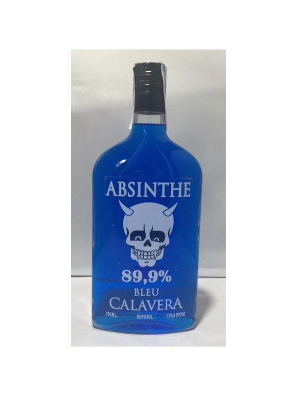 ABSENTA CALAVERA BLEU 89,9 - ABSENTA ABSINTHE CALAVERA BLEU 89,9