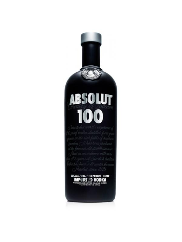 VODKA ABSOLUT 100 1 LITRO