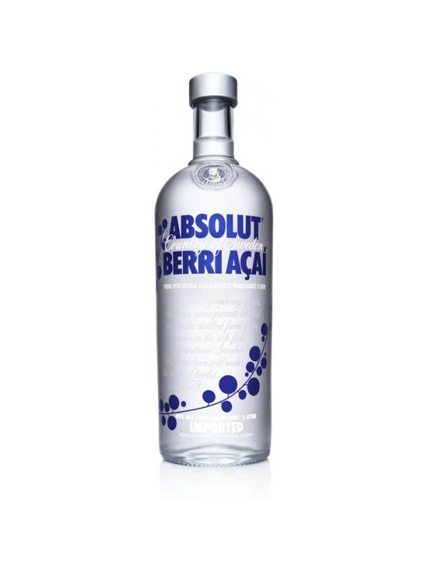 VODKA ABSOLUT BERRI ACAI 1L