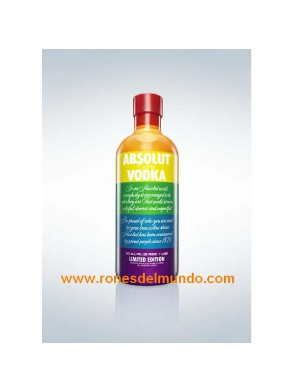 VODKA ABSOLUT COLORS 70 CL