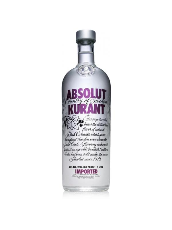 VODKA ABSOLUT KURANT