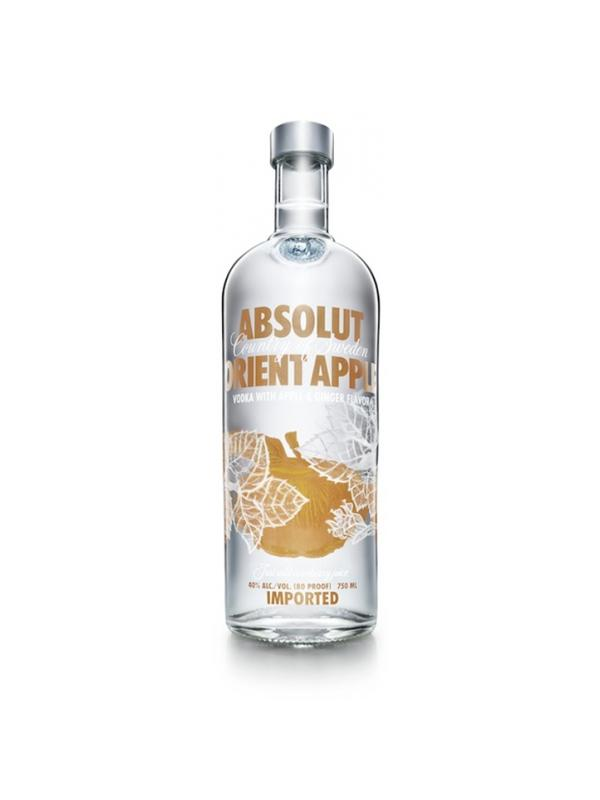 VODKA ABSOLUT ORIENT APPLE 1 L