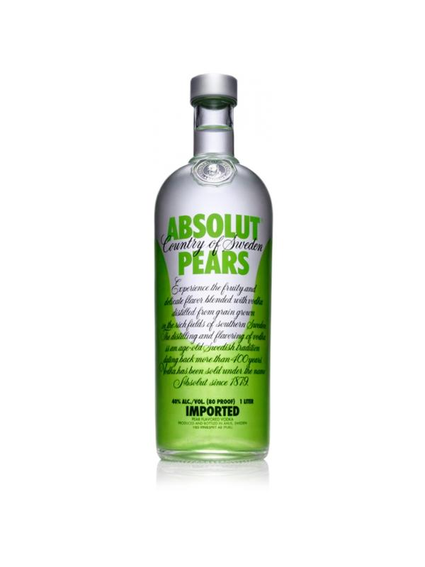 VODKA ABSOLUT PEARS (PERA) 1 L