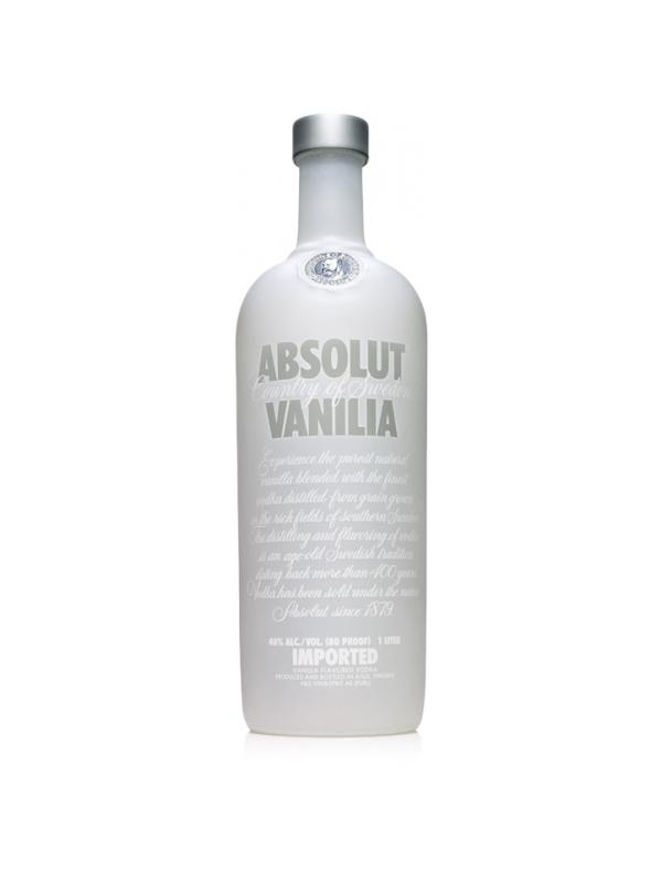 VODKA ABSOLUT VAINILLA 1 LITRO