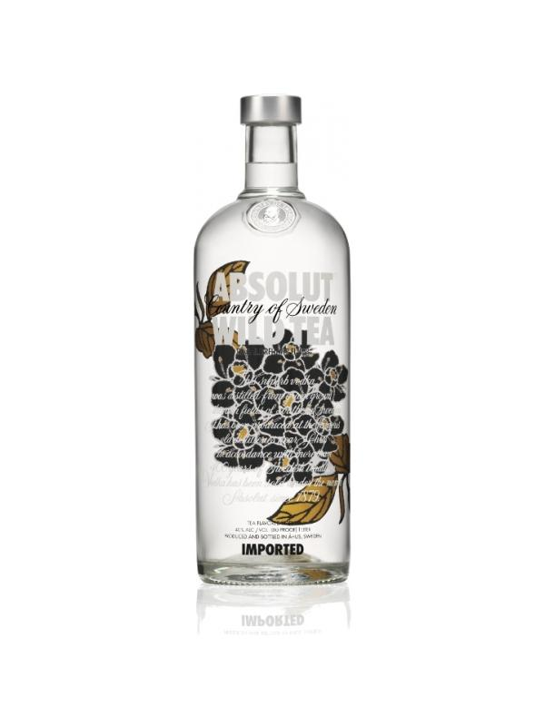 VODKA ABSOLUT WILD TEA 1L