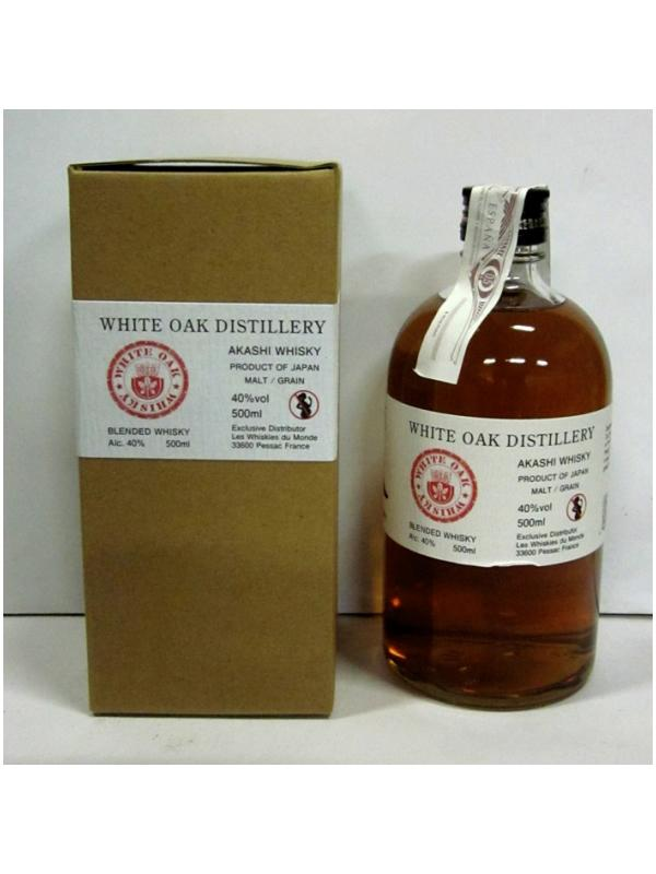 WHISKY AKASHI WHITE OAK DESTILLERY - WHISKY JAPONES AKASHI