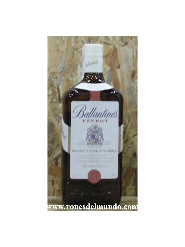 WHISKY BALLANTINES 1 LITRO - BOTELLA 1 LITRO 