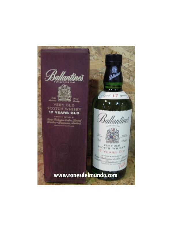 WHISKY BALLANTINES 17 AÑOS 70 CL