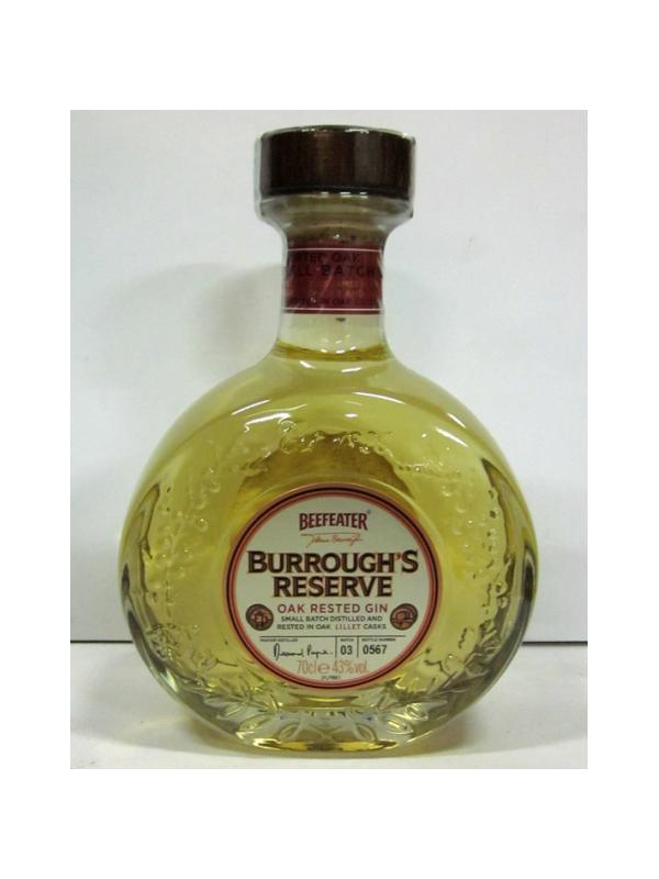 GINEBRA BEEFEATER BUARROUGHS RESERVE