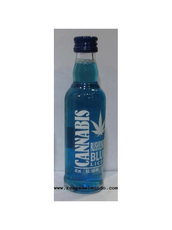 MINIATURA CANNABIS BLUE RUSHKINOFF