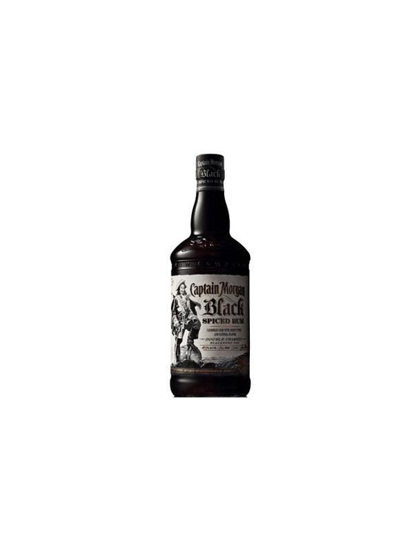 RON CAPTAIN MORGAN BLACK SPICED 1 L - RON CAPTAIN MORGAN BLACK SPICED BOTELLA 1 L GRADUACIÓN 40 % Rones Blackstrap no son la variedad más común disponible, aunque son bastante sabrosa. La mayoría de los blackstraps son ricos y deliciosos, muy dulce y espeso como melaza. Aunque este perfil es grande y bastante útil, a menudo carecen de nada más allá de la base de bebida azucarada. Captain Morgan Negro, sin embargo, añade una capa que los pasos de este estilo de ron en otro reino.  Clavo y corteza de cassia son sólo dos de las especias añadidas al ron blackstrap Caribe utilizado como la base para el Capitán Morgan Negro. También es de cañón en doble carbonizado, roble ennegrecido, lo que añade aún más interesantes notas a este ron negrita.