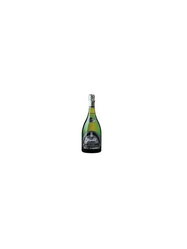 CAVA FREIXENET BRUT BARROCO - Freixenet Brut Barroco es un cava reserva producido en botella especial, caracterizado por su color amarillo limón y la elegancia de su fina burbuja.    Limpio y brillante. Abundante desprendimiento de carbónico. En nariz sobresalen los finos aromas de frutas cítricas, mezcladas sobre fondos de frutos secos y aromas de crianza. Su prolongado envejecimiento le da una buena estructura en boca, pero conservando un fondo fresco y suave, representativo de su particular bouquet.