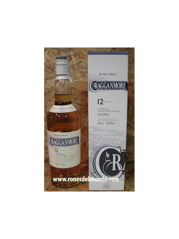 WHISKY CRAGGANMORE RESERVA 12 AÑOS 70 CL SPEYSIDE - WHISKY ESCOCES