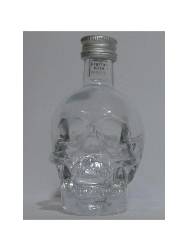 MINIATURA VODKA CRYSTAL HEAD