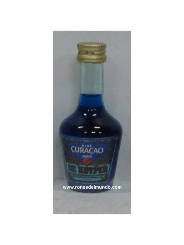 MINIATURA DE KUYPER CURACAO AZUL