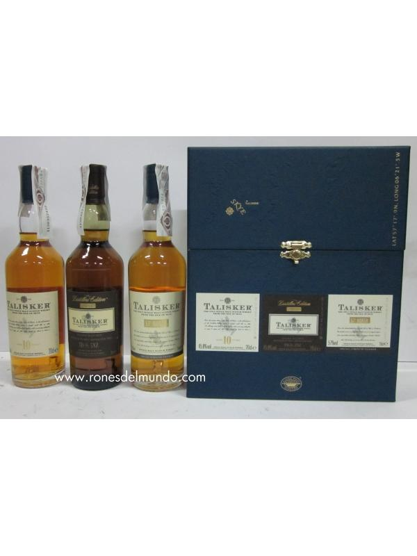 ESTUCHE DE WHISKY TALISKER 10 AÑOS - 57 NORTH - DISTILLERS EDITION