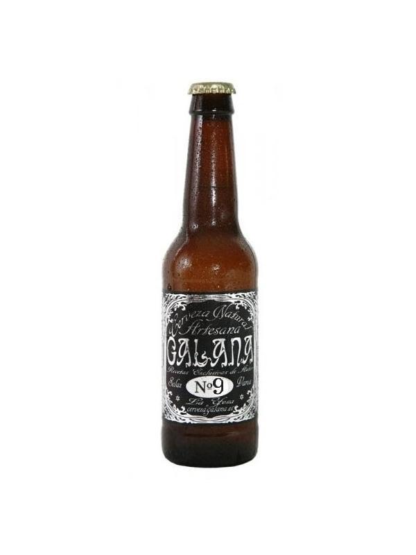 CERVEZA ARTESANA GALANA Nº 9 - CERVEZA ARTESABA GALANA Nº 9 Cerveza Valenciana de 4.7 %