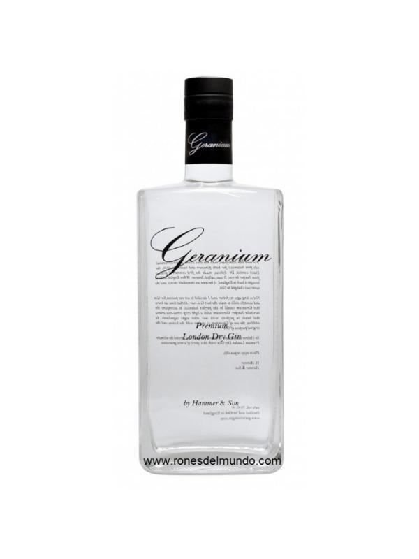 GINEBRA GERANIUM - GINEBRA - GIN PREMIUM GERANIUM LONDON DRY GIN: (Londres)