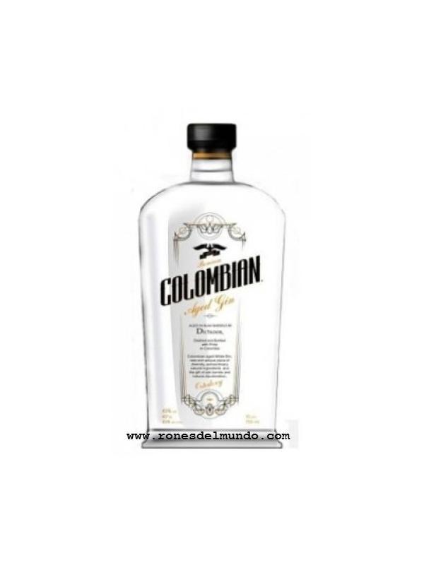 GINEBRA COLOMBIAN AGED GIN WHITE - GINEBRA COLOMBIAN AGED GIN WHITE GRADUACION 43 %
