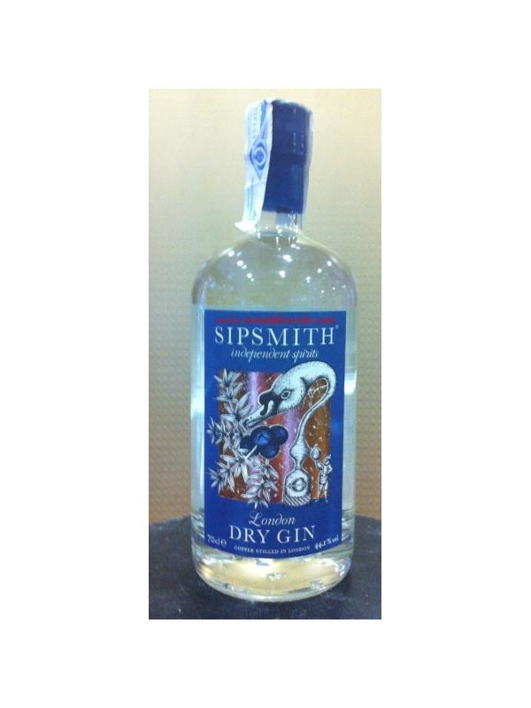 GINEBRA SIPSMITH AZUL ( BLUE LABEL ) 44.1%
