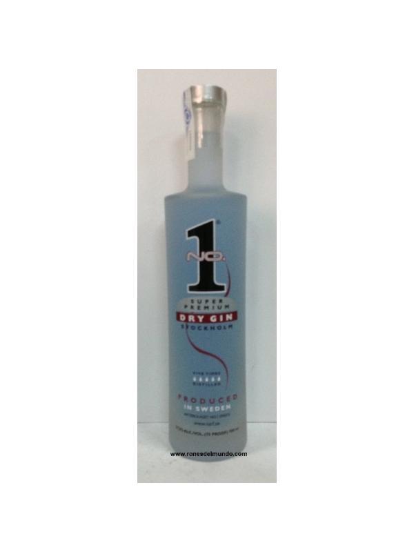 GINEBRA Nº 1 SUPER PREMIUN DRY GIN ( SUECIA)