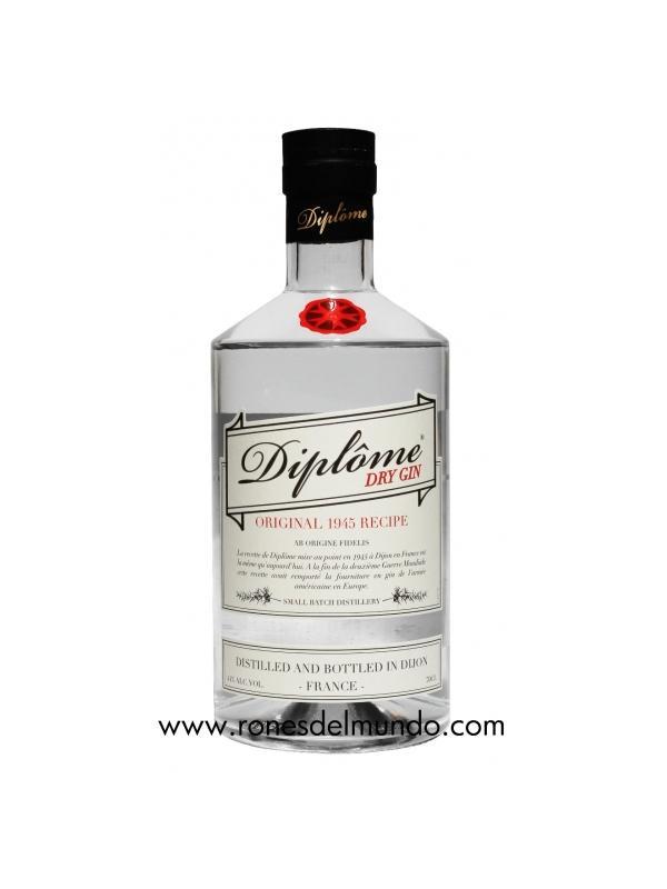GINEBRA DIPLOME GIN ( FRANCIA )