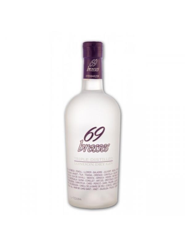 GINEBRA 69 BROSSES DESBARZER ( MORA SILVESTRES ) - GINEBRA 69 BROSSES DESBARZER ( MORA ) ( VALENCIA ) DEsbarzer se presenta como una espectacular y única Ginebra Premium de mora silvestre, una Triple distilled London Dry con una graduación del 40%, con un tono floral a mora silvestre.