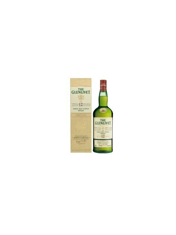 THE GLENLIVET 12 AÑOS SINGLE MALT