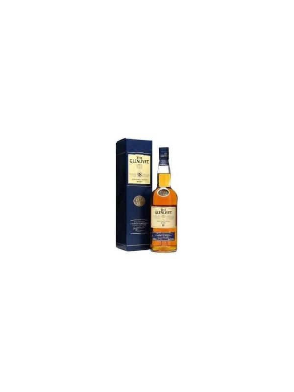 THE GLENLIVET 18 AÑOS SINGLE MALT -