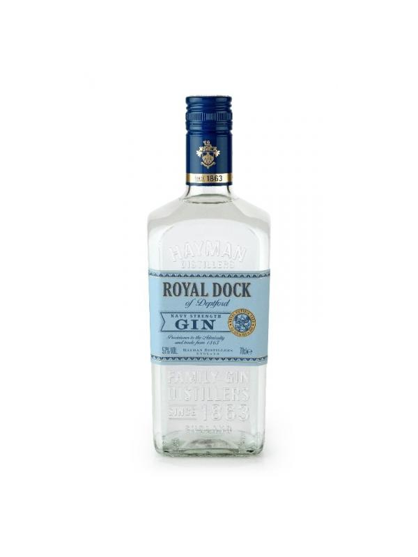 GIN HAYMAN ROYAL DOCK OF DEPTFORD