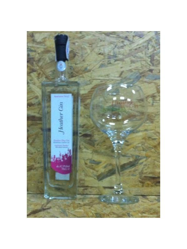 GINEBRA HEATHER GIN LONDON CUT - GINEBRA PREMIUM - GIN HEATHER ( INGLESA )
