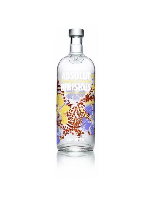 VODKA ABSOLUT HIBISKUS 1 L