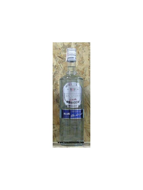 VODKA IGANOFF BLUE 1L - VODKA POLACO TRIPLE DESTILACION