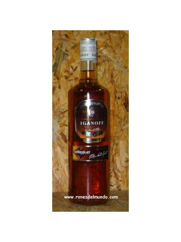 VODKA IGANOFF CHOCOLATE VODKA 1LITRO - VODKA CON CHOCOLATA IGANOFF