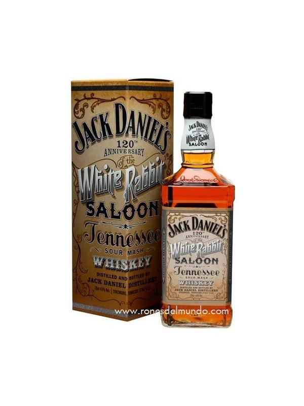 BORUBON JACK DANIELS WHITE RABBIT SALOON