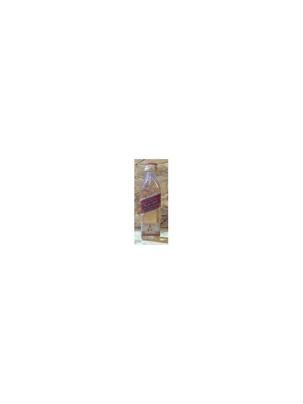 MINIATURA WHISKY JHONNIE WALKER RED LABEL 5 CL -