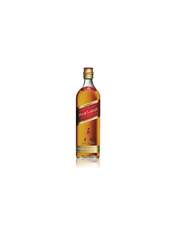 WHISKY JHONNIE WALKER RED LABEL70 CL