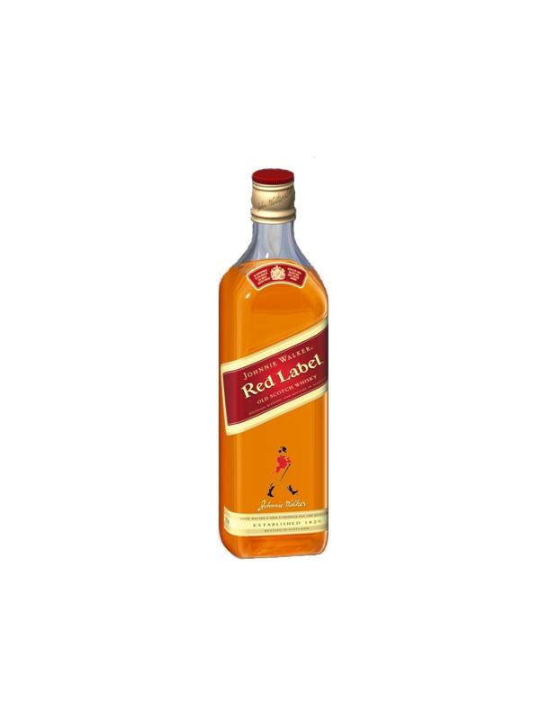 WHISKY JONNIE WALKER RED LABEL 1 L